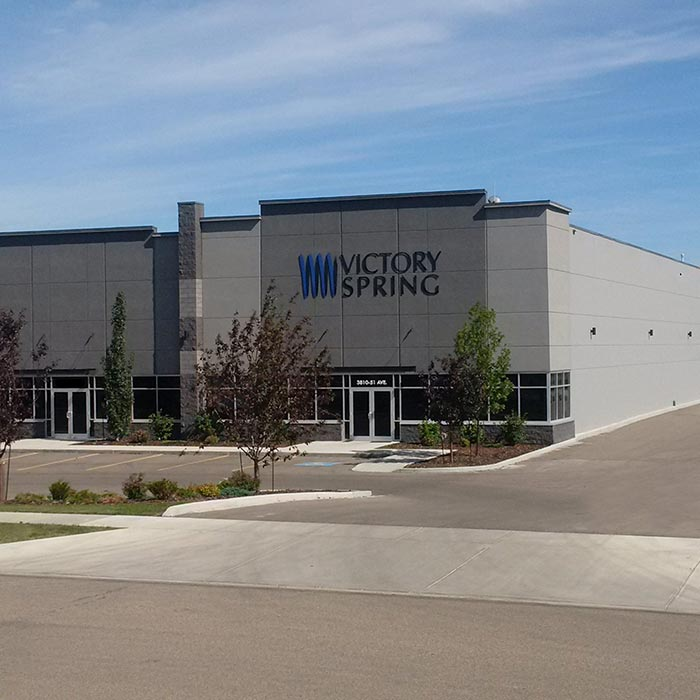 Victory Spring - Compression Coil Spring Factory - Edmonton Alberta